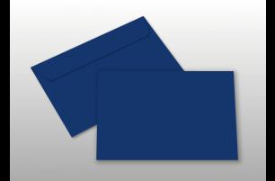 Kuverts für A6-Karten, dunkelblau