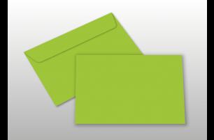 Kuverts für A6-Karten, hellgrün