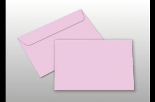 Kuverts für A6-Karten, rosa