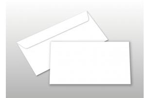Kuverts für DIN lang-Karten, weiß