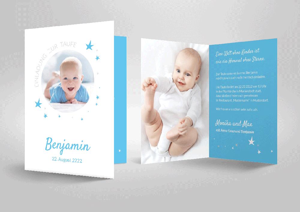 Taufe Einladungskarten Geburt Taufe