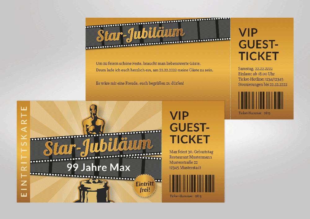 exklusive einladungskarte für die ganz besondere geburtstagsparty, Einladungen