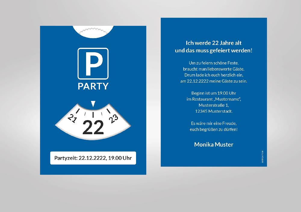 Tatort Einladungskarte - Vorlagen