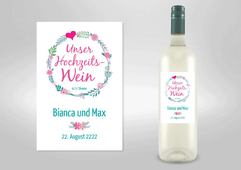Beste Weinflasche Center Hochzeit Ideen - Brautkleider Ideen ...